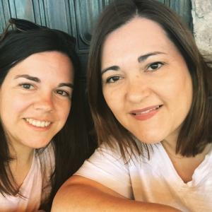 """Gloria y Paz fundadoras de """"Creyendo en la infancia"""""""
